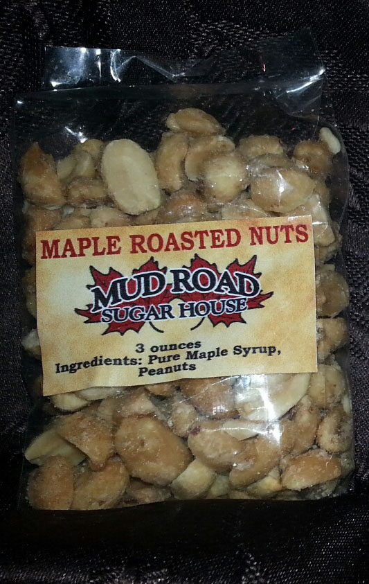 bag of maple roasted nuts